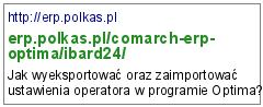 http://erp.polkas.pl/comarch-erp-optima/ibard24/